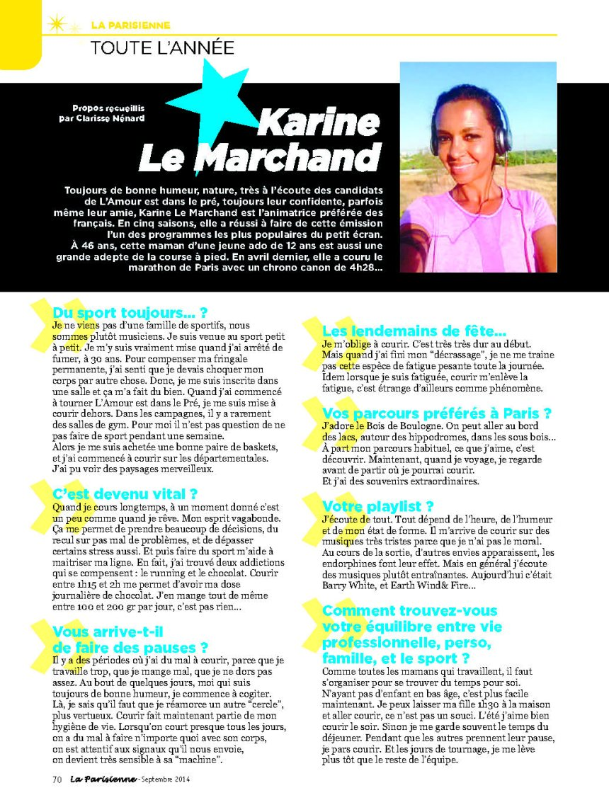 KARINE LE MARCHAND