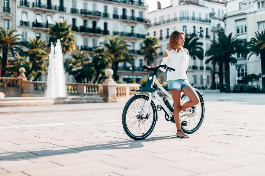 Début Hybride, vélo urbain à assistance électrique 2© ThirtyOne
