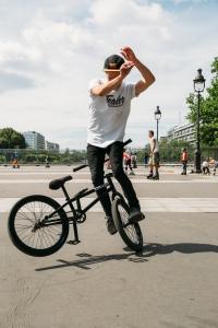 Demo BMX de flat par Melvyn Masson