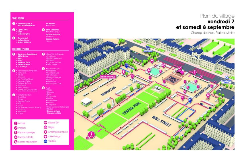 Plan_village_La-Parisienne2018_vendredisamedi